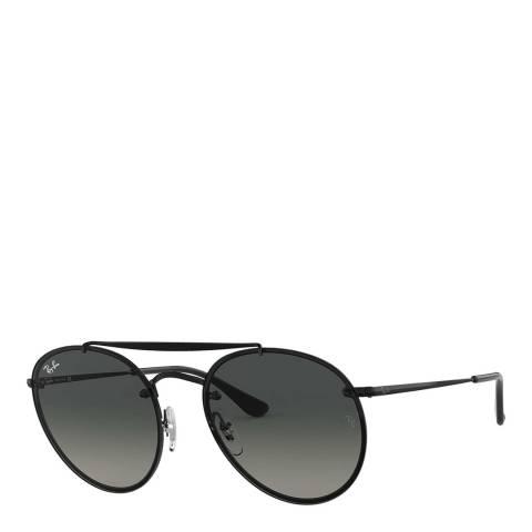 Ray-Ban Unisex Black/Grey Gradient Sunglasses 54mm