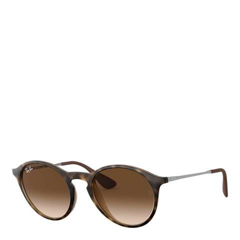 Ray-Ban Unisex Tortoise/Brown Ray-Ban Sunglasses 49mm