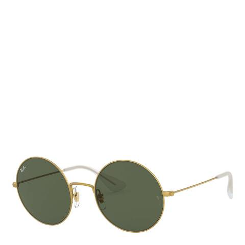 Ray-Ban Women's Gold/Green Gradient Ray-Ban Sunglasses 50mm