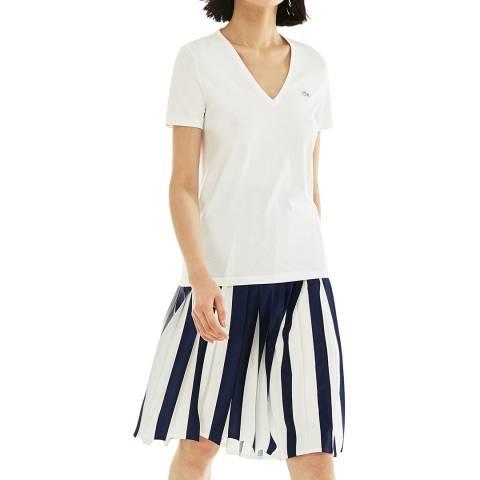 Lacoste White Classic Cotton T-Shirt