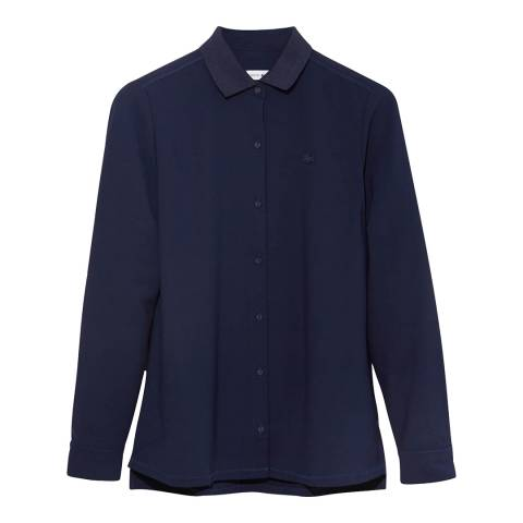 Lacoste Navy Long Sleeve Shirt