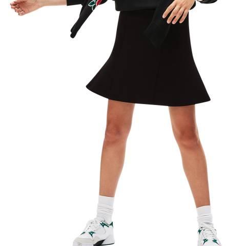 Lacoste Black Peplum Sport Skirt