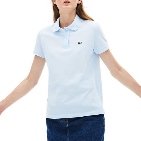 Lacoste Blue Cotton Polo Shirt