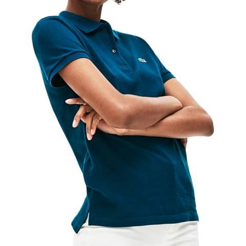 Lacoste Petrol Cotton Polo Shirt