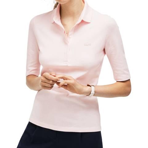 Lacoste Pink Half Sleeve Polo Shirt