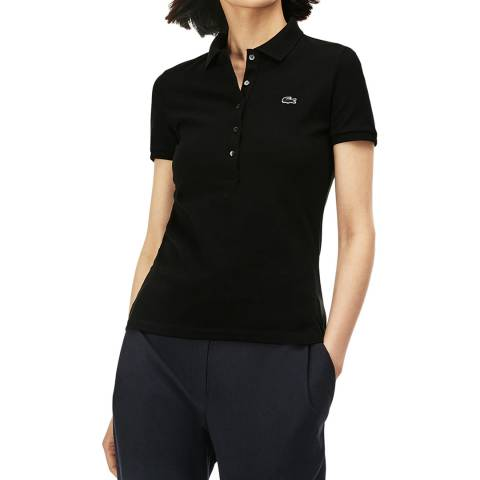 Lacoste Black Slim Fit Polo Shirt