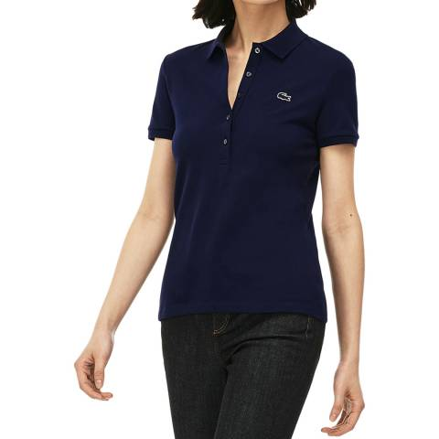 Lacoste Navy Slim Fit Polo Shirt