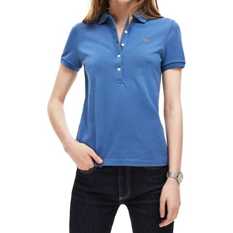 Lacoste Blue Slim Fit Polo Shirt