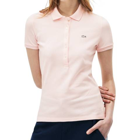 Lacoste Light Pink Slim Fit Polo Shirt