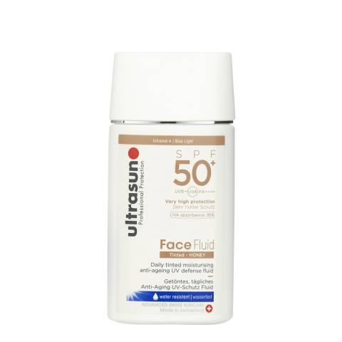 Ultrasun Face Fluid 50+ Tinted - 40ml