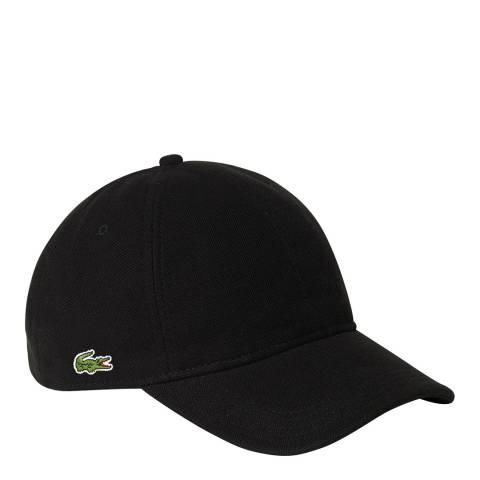 Lacoste Black Logo Cap