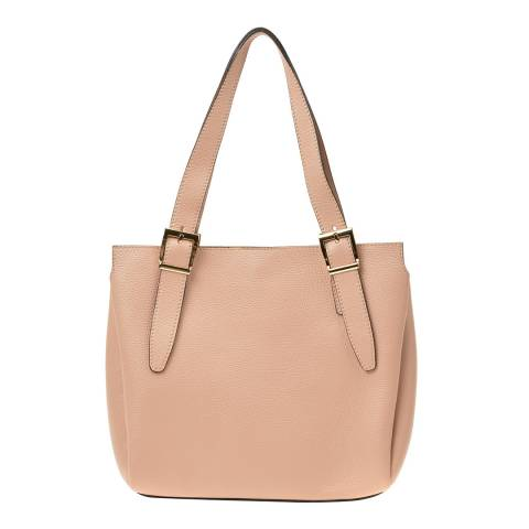 Renata Corsi Pink Leather Shoulder Bag