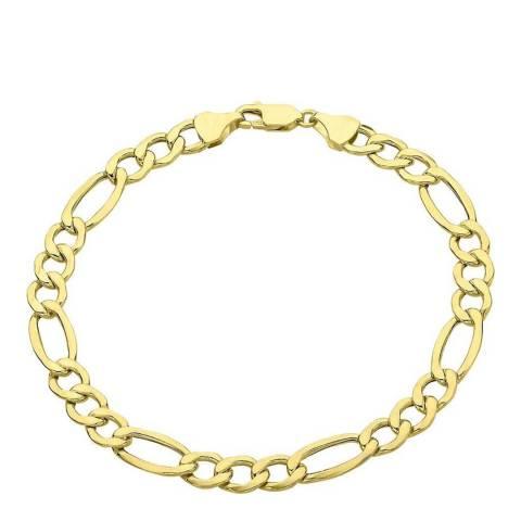 Stephen Oliver 18K Gold Plated Figaro Link Bracelet