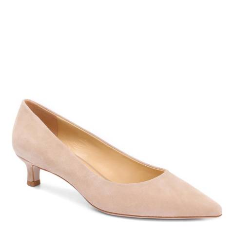 JONES BOOTMAKER Beige Smart Court Shoes