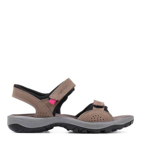 JONES BOOTMAKER Brown Casual Leather Sandals