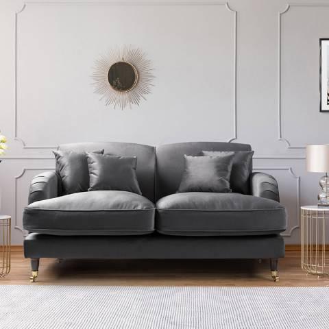 The Great Sofa Company The Piper 2 Seater Sofa, Velvet Cosmic