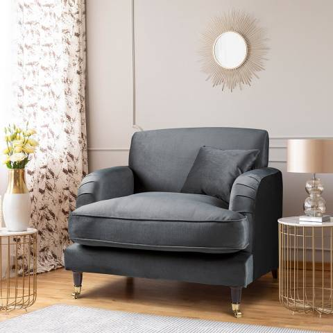 The Great Sofa Company The Piper Armchair, Velvet Cosmic