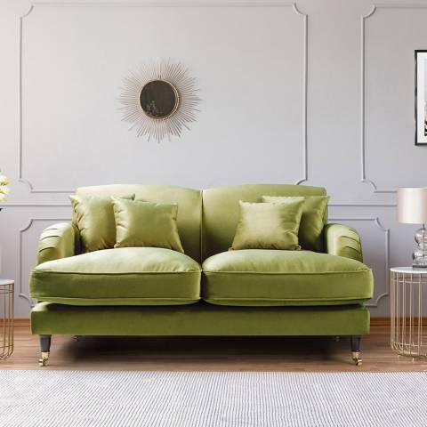 The Great Sofa Company The Piper 2 Seater Sofa, Velvet Grass