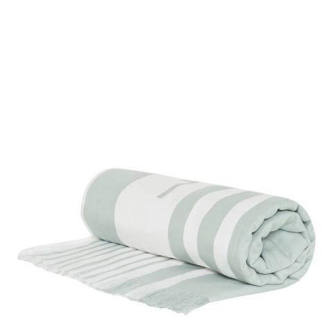 Seafolly Sage Multi Stripe Beach Towel