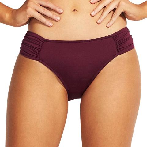 Seafolly Boysenbery Ruched Side Retro