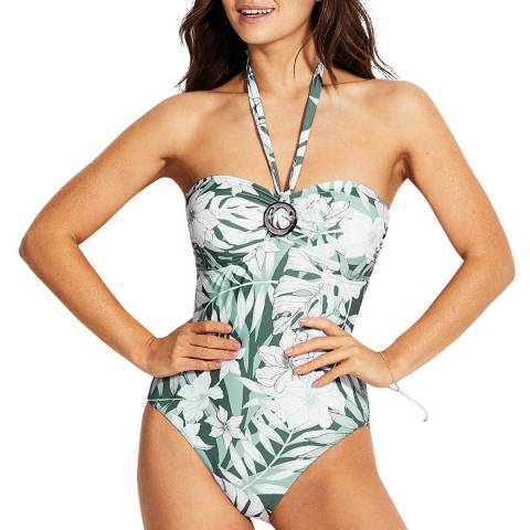 Seafolly Vine Copacabana Dd Ring Front Maillot