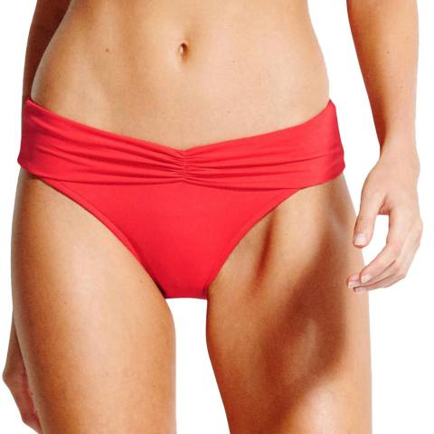 Seafolly Chilli V Band Retro Bottoms