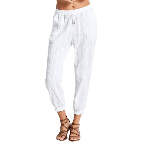 Seafolly White Washed Dobby Beach Pant