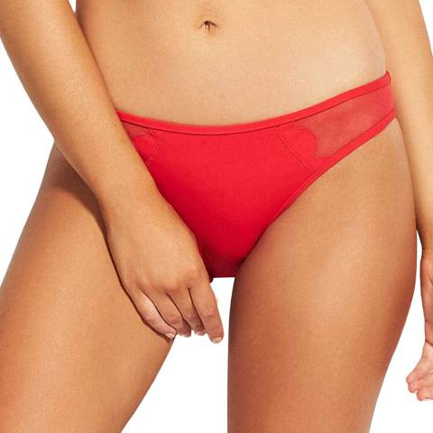 Seafolly Chilli Petal Edge Hipster