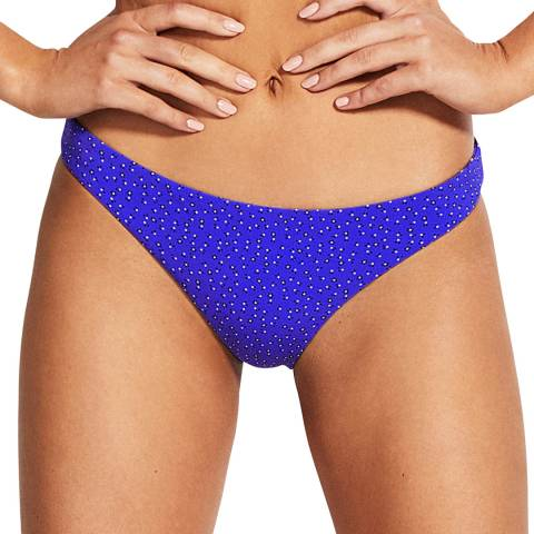 Seafolly Cobalt Ditsy El Dorado Hipster Pant
