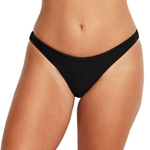 Seafolly Black Essentials High Cut Pant