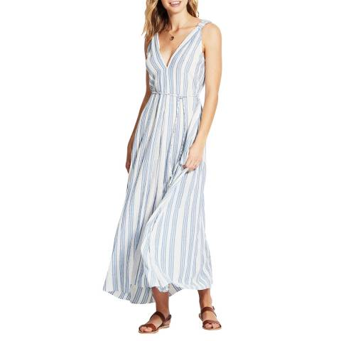 Seafolly Blue/Gold Lurex Stripe Lurex Yarn Dye Stripe Maxi