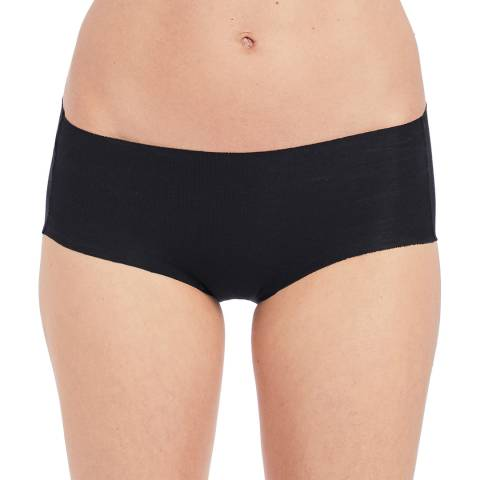 Wacoal Black Beyond Naked Cotton Hipster Brief