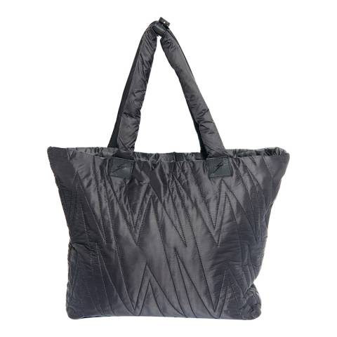 Electric Yoga Black Karma Ultra Light Allover Bolt Bag
