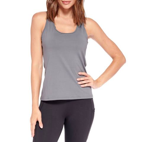 Live Electric Charcoal Speed Up Racer Back Tank Top