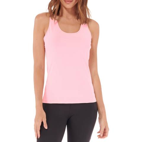 Live Electric Blush Speed Up Racer Back Tank Top