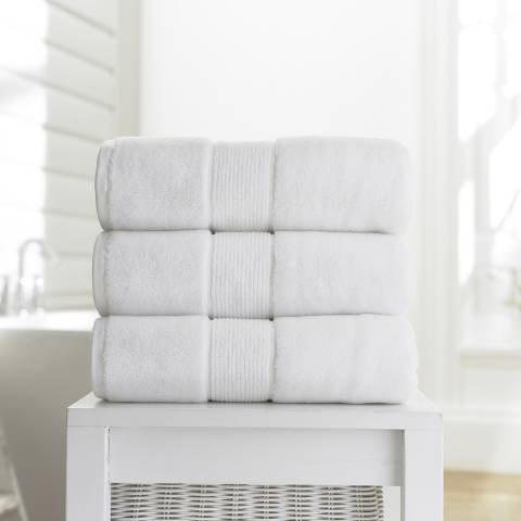 Deyongs Winchester 700gsm Pair of Hand Towels, White