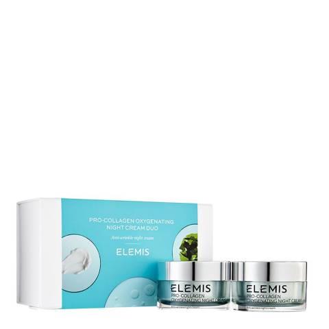 Elemis Pro-Collagen Oxygenating Night Cream 50ml Duo WORTH £198