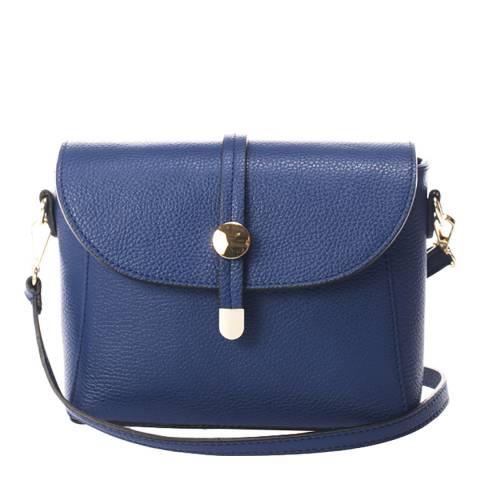 Lisa Minardi Blue Leather Crossbody Bag