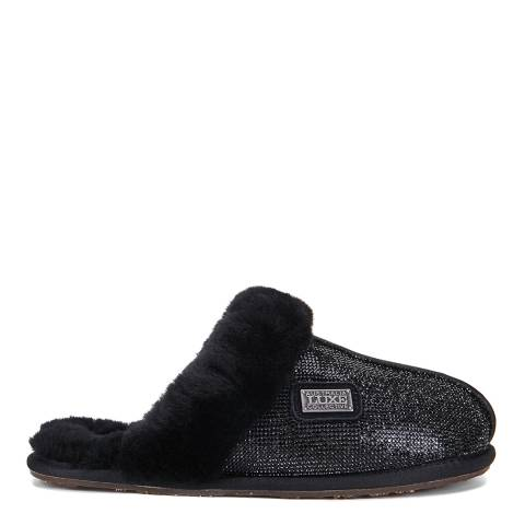 Australia Luxe Collective Black Diamonds Closed Mule Slipper