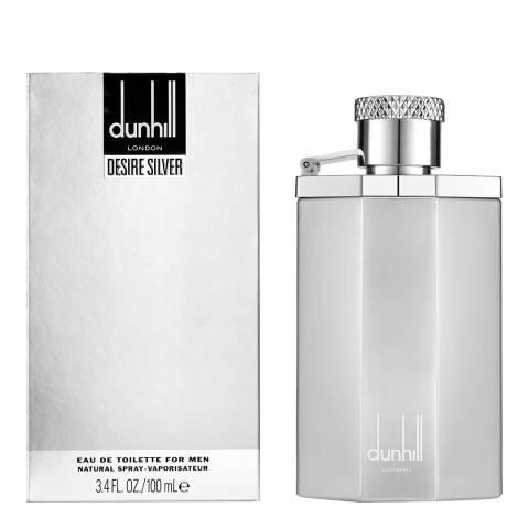 Dunhill Desire Silver Eau de Toilette 100ml Limited Edition