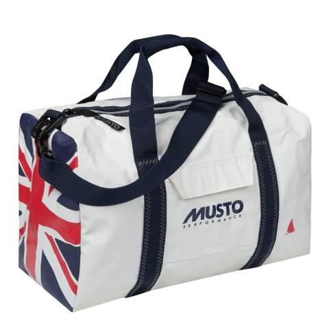 Musto White Small Genoa Carryall