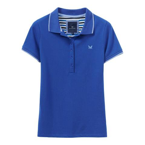 Crew Clothing Blue Classic Cotton Polo Shirt