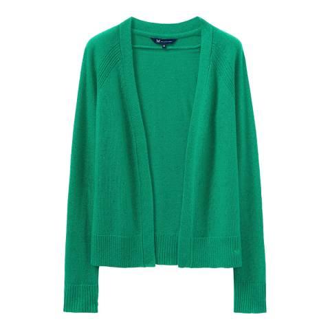 Crew Clothing Green Boxy Cardigan