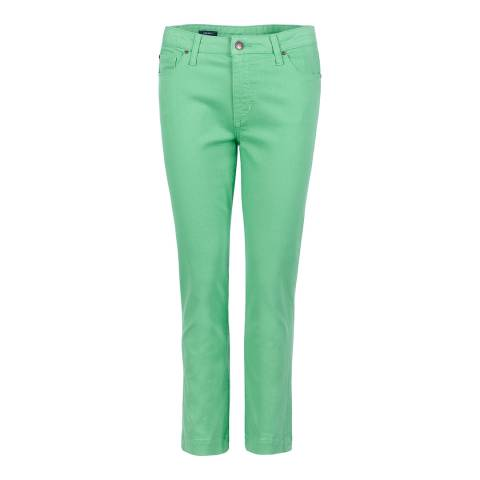 Crew Clothing Green Cropped Jean