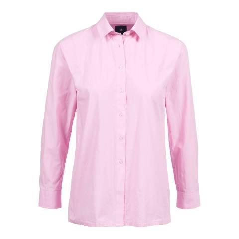 Crew Clothing Pink Cotton Shirt