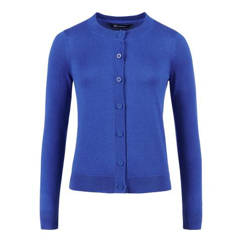 Crew Clothing Blue Crew Cardigan