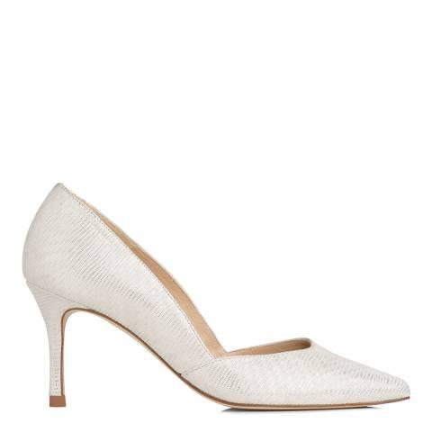 L K Bennett Ivory Grosgrain Ellena Formal Sandals