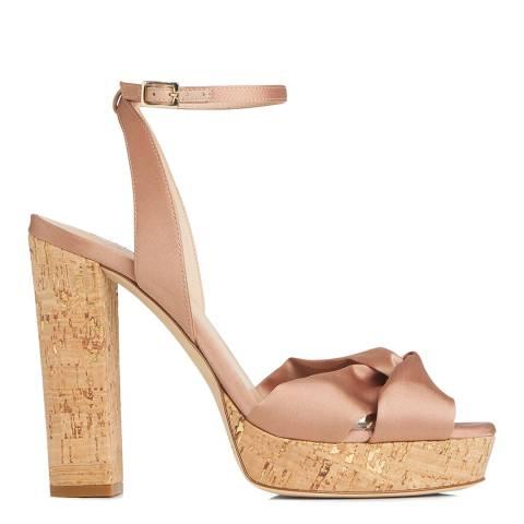 L K Bennett Rose Satin Annabella Pin Formal Sandals