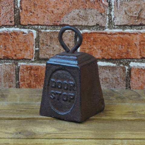 The Satchville Gift Company Cast Iron Door Stop