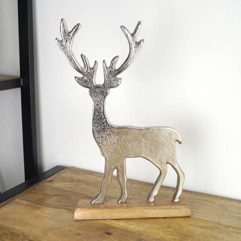 The Satchville Gift Company Aluminium Reindeer